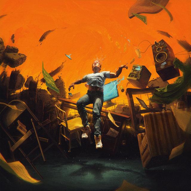 Cover art for album No Pressure by Logic
