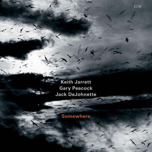 Cover art for album Somewhere (Live) by Keith Jarrett, Gary Peacock, Jack DeJohnette