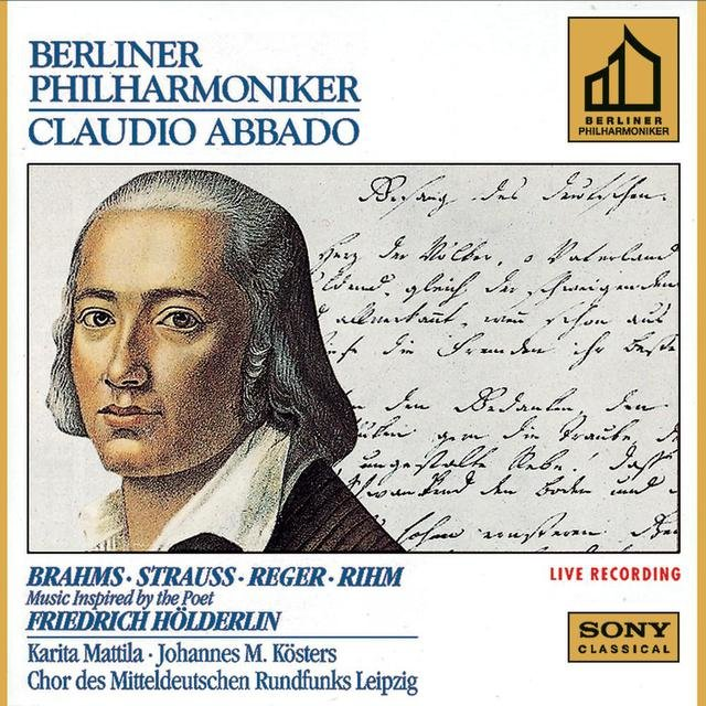 Brahms & Strauss & Reger & Rihm: Music Inspired by the Poet Friedrich Hölderlin