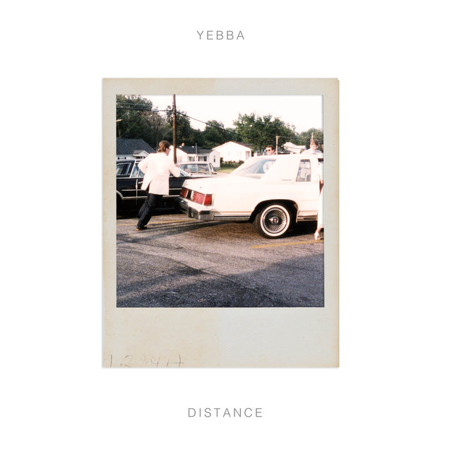 Cover art for album Distance by Yebba