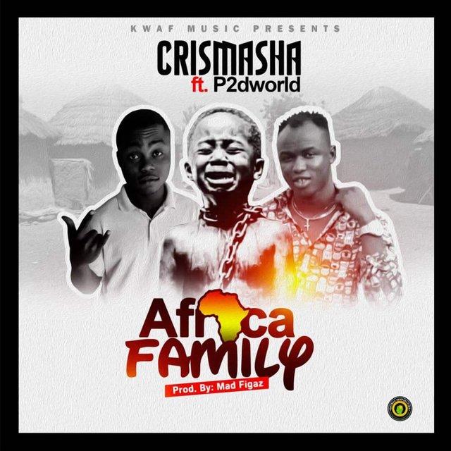 Cover art for album Africa Family by Crismasha, P2Dworld