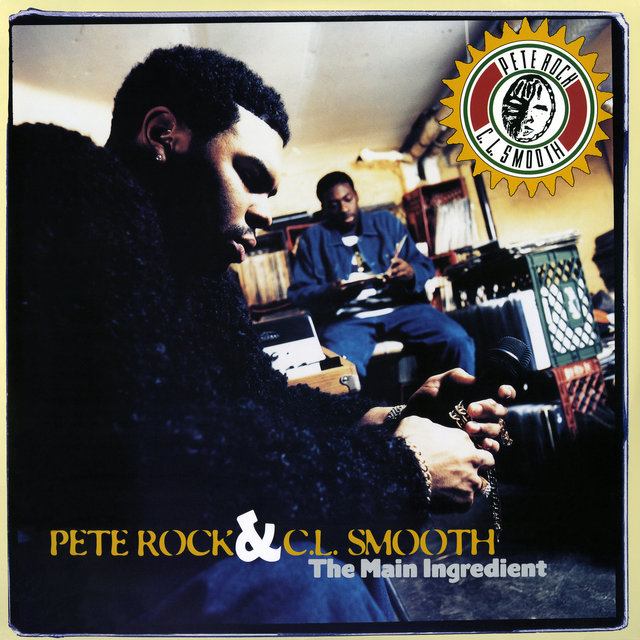 Cover art for album The Main Ingredient by Pete Rock, C.L. Smooth