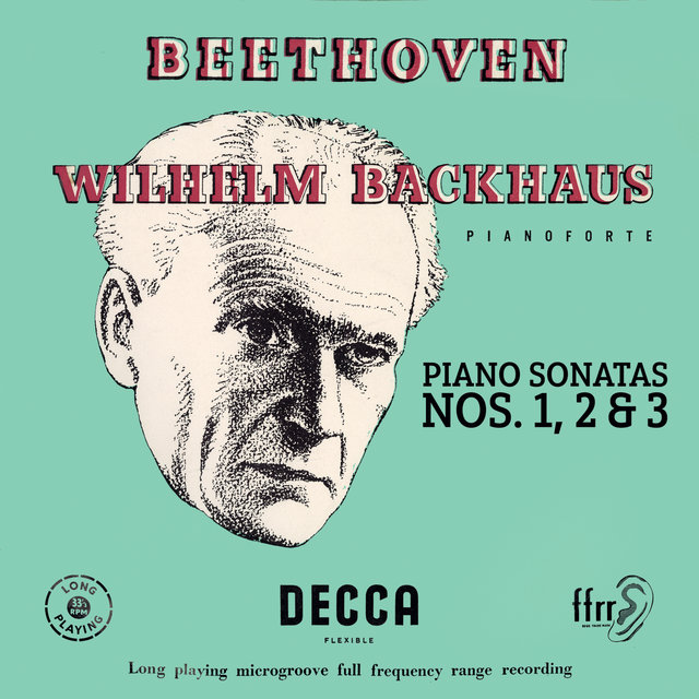 Beethoven: Piano Sonatas Nos. 1, 2 & 3 (Mono Version)