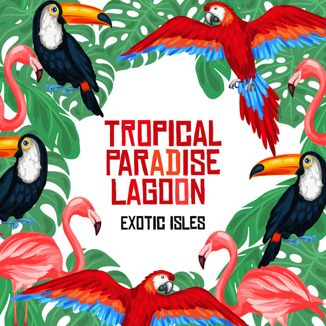 Tropical Paradise Lagoon - Exotic Isles