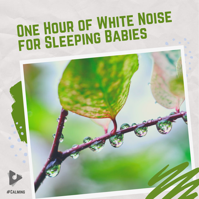 One Hour of White Noise for Sleeping Babies