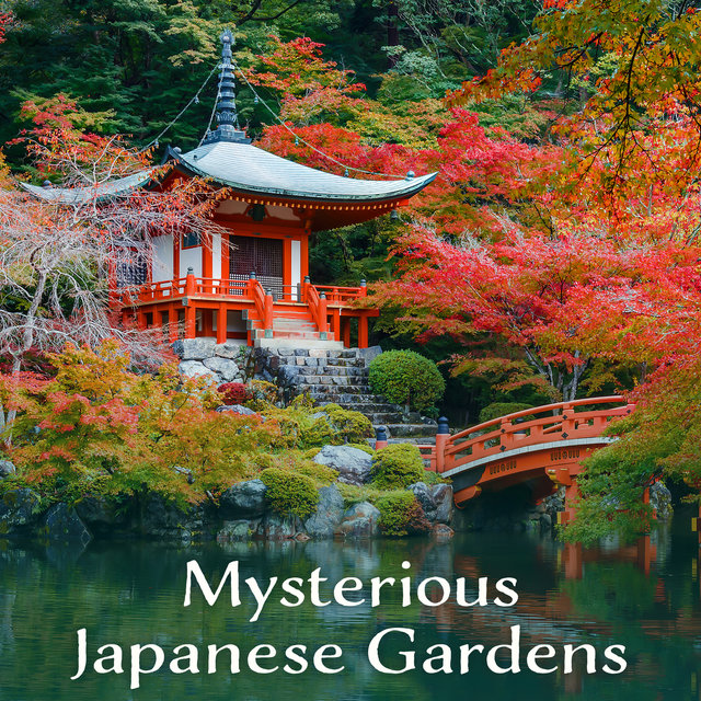 Mysterious Japanese Gardens - Magical Worlds, Zen Spirit, Soothing Relaxation, Healing Meditation, Cherry Blossoms, Koto & Harp Music