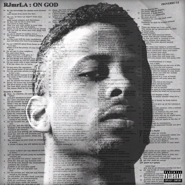 Cover art for album On God by RJmrLA