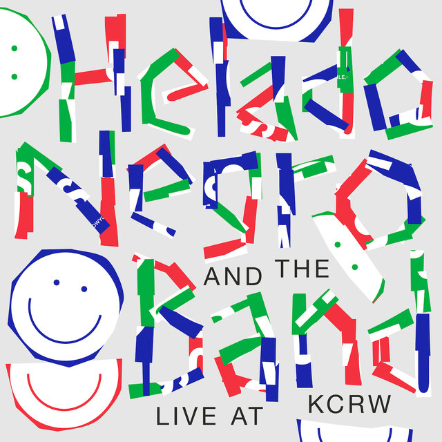 Cover art for album Live at KCRW by Helado Negro