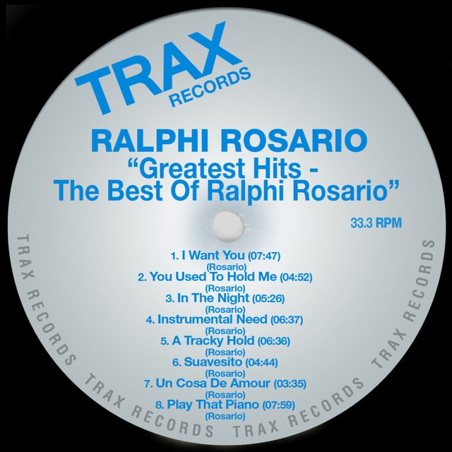 Ralphi Rosario's Greatest Hits