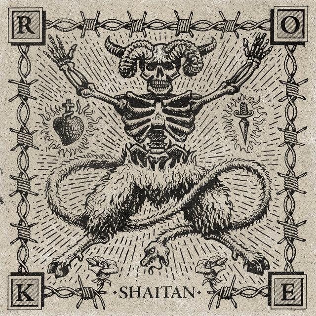 Cover art for album Shaitan by Roke