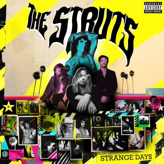 Cover art for album Strange Days by The Struts