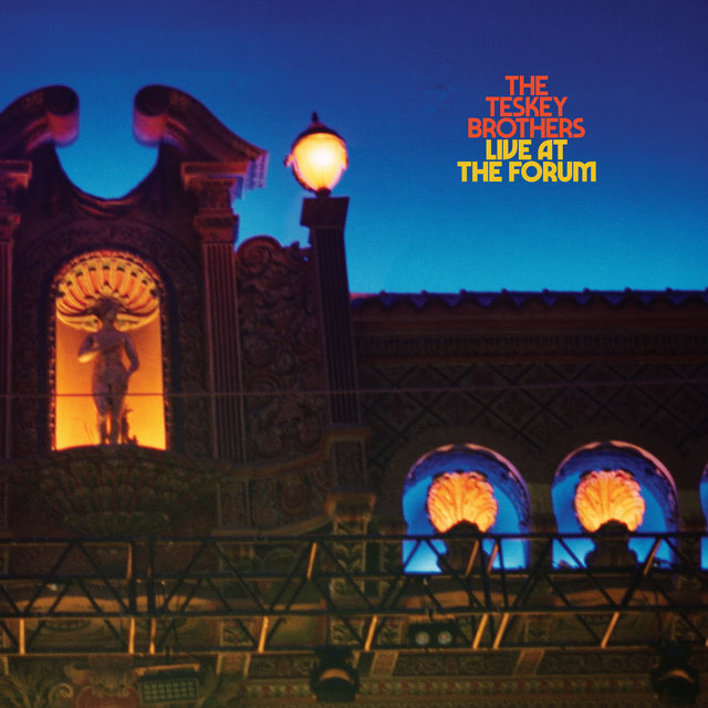 Cover art for album Live at the Forum by The Teskey Brothers