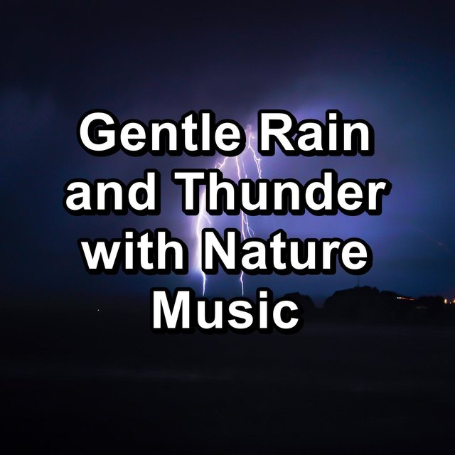 Gentle Rain and Thunder with Nature Music