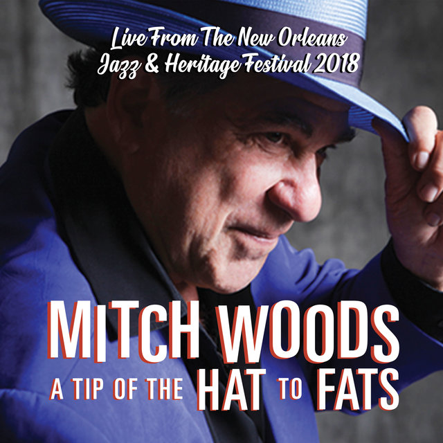 Cover art for album A Tip of the Hat to Fats by Mitch Woods