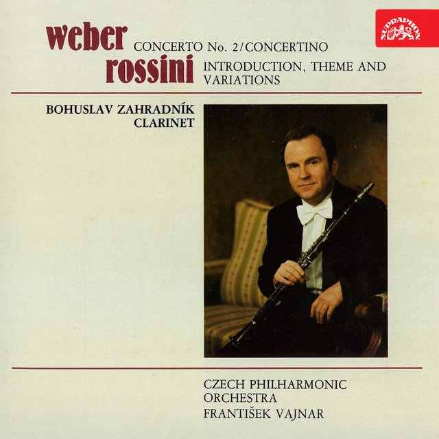 Weber, Rossini: Compositions for Clarinet and Orchestra