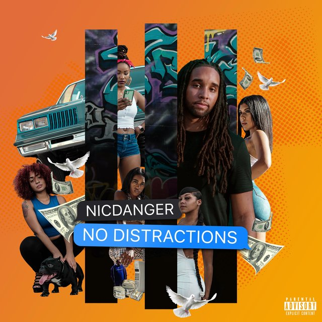 Cover art for album No Distractions by NicDanger