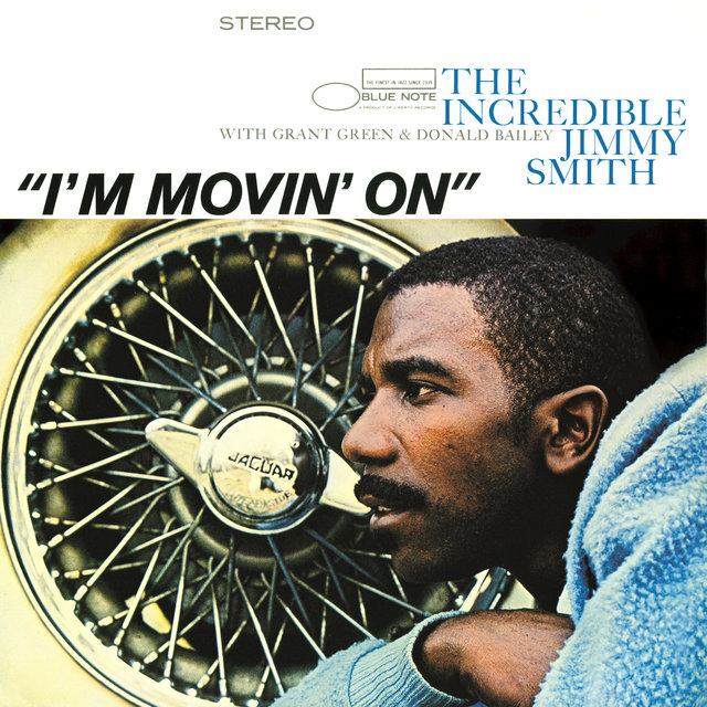 Cover art for album I'm Movin' On by Jimmy Smith