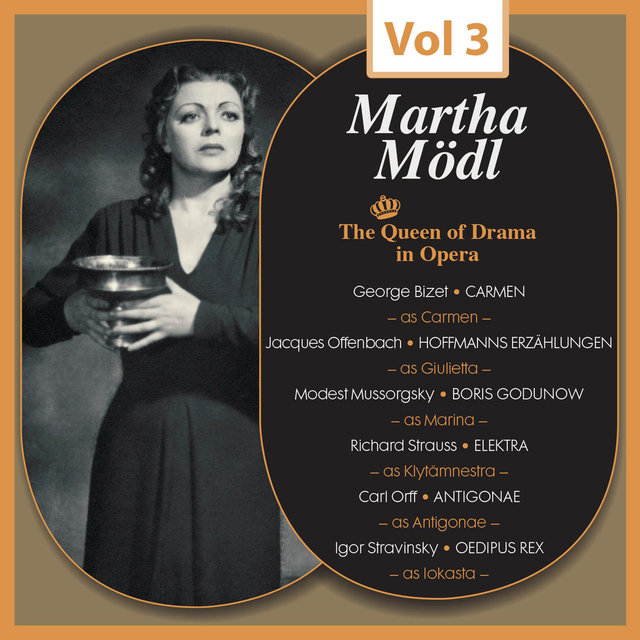 The Queen of Drama in Opera, Vol.3