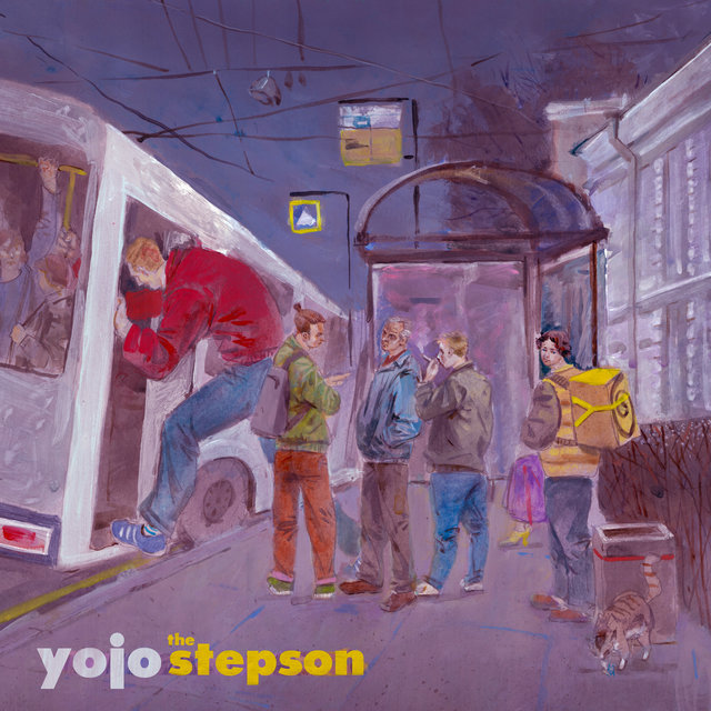 Cover art for album The Stepson by YoJo