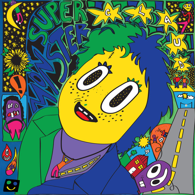 Cover art for album Super Monster by Claud
