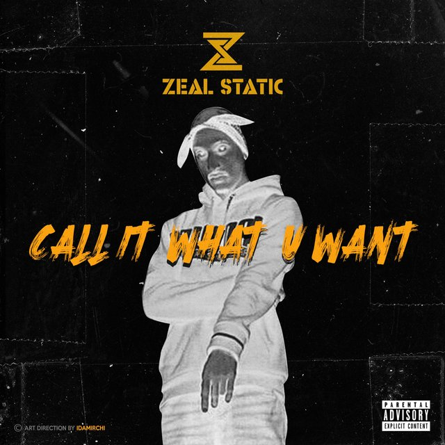 Cover art for album Call It What U Want by Zeal Static