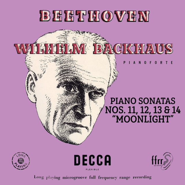 "Beethoven: Piano Sonatas Nos. 11, 12, 13 & 14 ""Moonlight"" (Mono Version)"