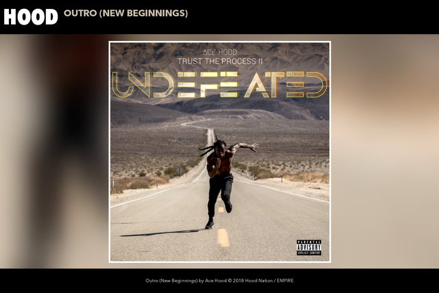 Outro (New Beginnings) (Audio)