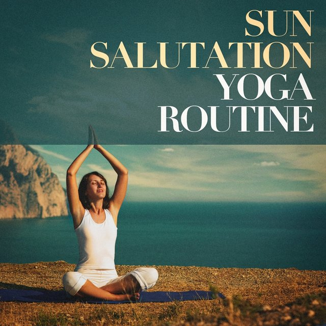 Sun salutation yoga routine