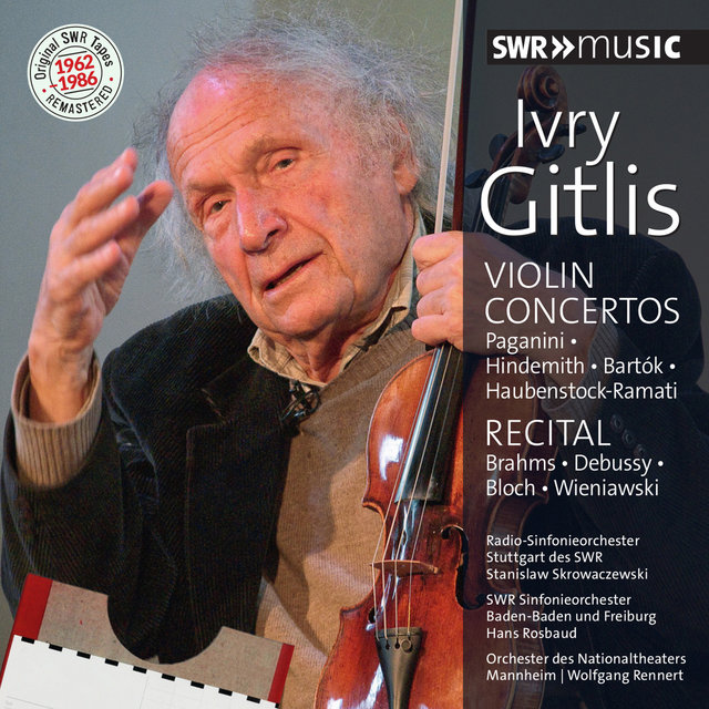 Original SWR Tapes Remastered: Ivry Gitlis (1962-1986)