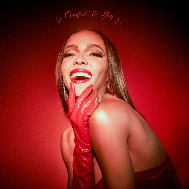 Cover art for album Comfort & Joy by Tinashe