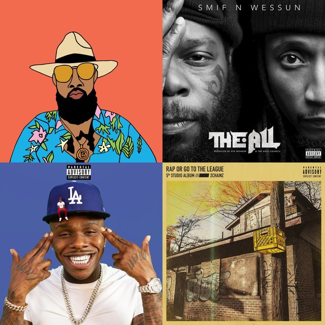 Cover art for album Best New Years Eve Rap Playlist 2019 by User