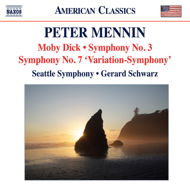 Mennin: Moby Dick - Symphonies Nos. 3 and 7
