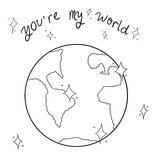 you're my world