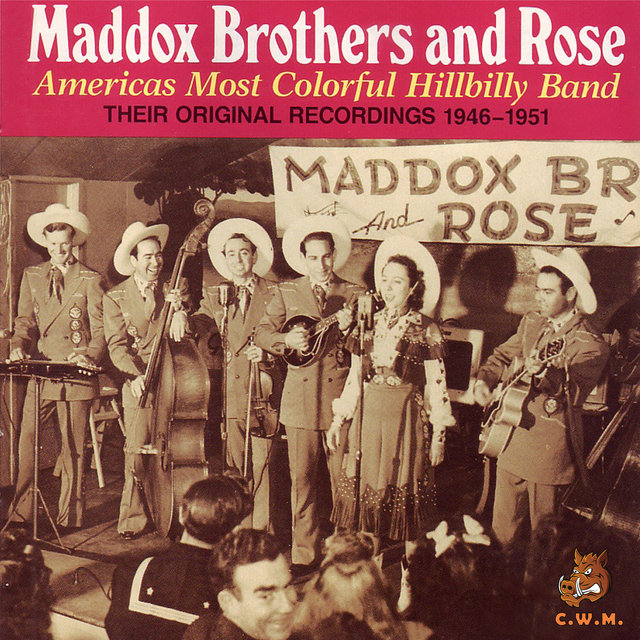 The Americas Most Colorful Hillbilly Band: Their Original Recordings 1946-1951