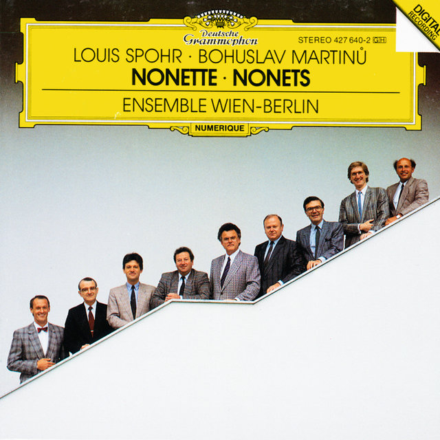 Spohr: Nonetto In F Major, Op. 31 / Martinu: Nonetto (1959)