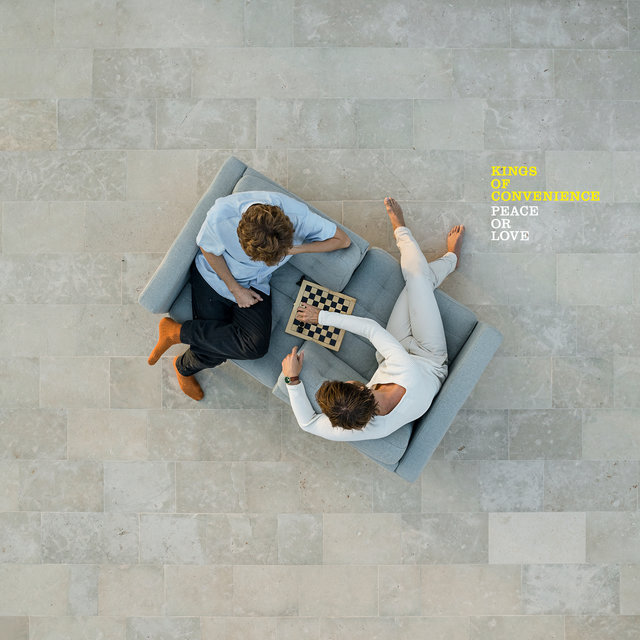 Cover art for album Peace Or Love by Kings Of Convenience