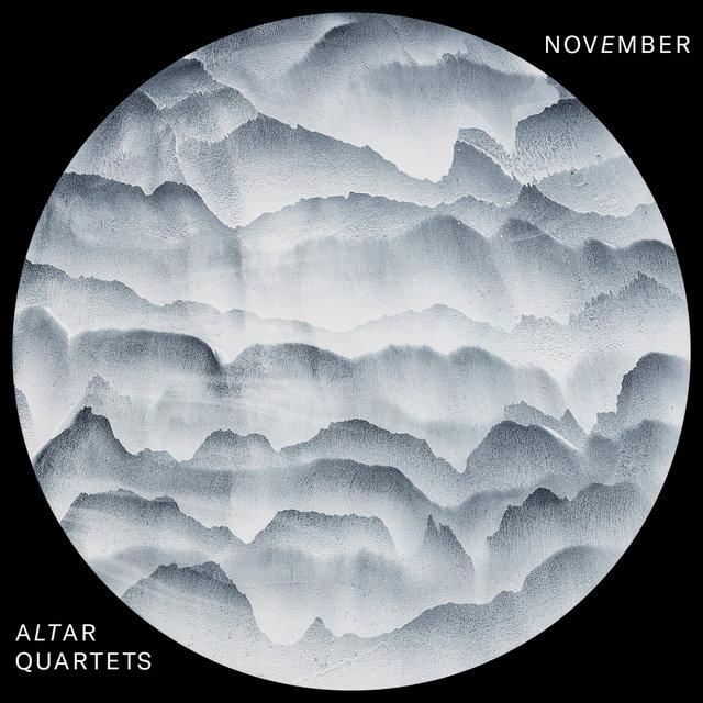 Cover art for album Altar Quartets: November by Nikolaj Nikitin, Ľuboš Šrámek