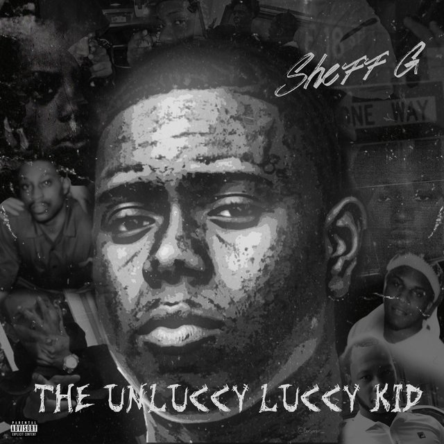 Cover art for album THE UNLUCCY LUCCY KID by Sheff G