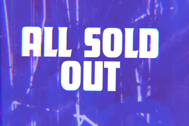 All Sold Out