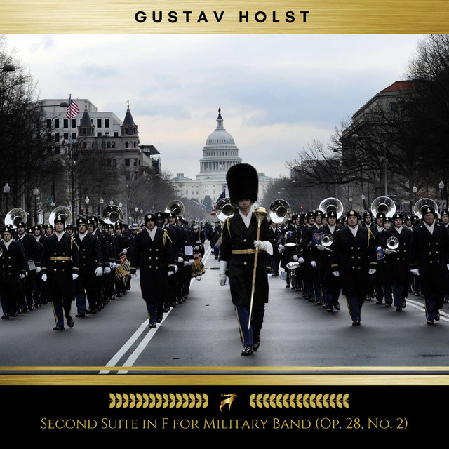 Second Suite in F for Military Band: Op. 28, No. 2 (Golden Deer Classics)