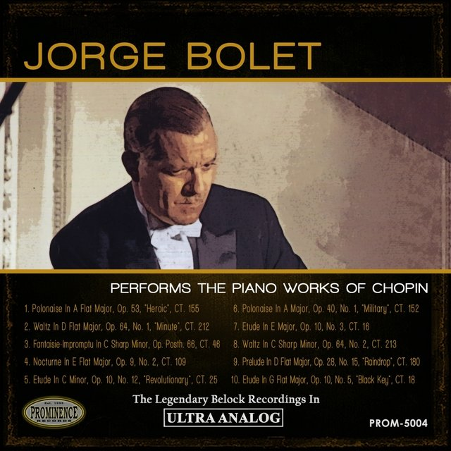 Jorge Bolet Plays Chopin