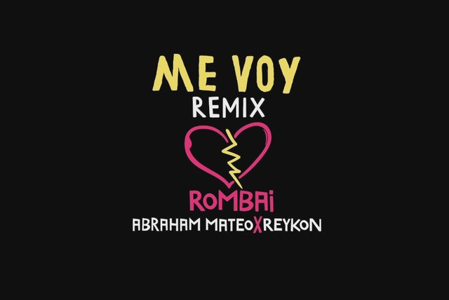 Me Voy (Remix - Official Lyric Video)