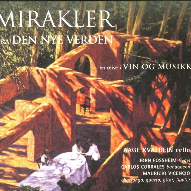 Cover art for album Mirakler Fra Den Nye Verden by Aage Kvalbein