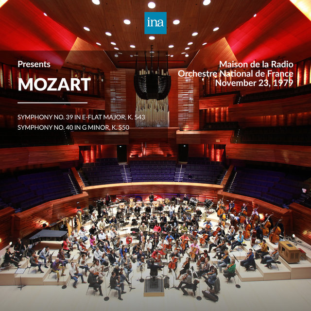 INA Presents: Mozart by Orchestre National de France at the Maison de la Radio