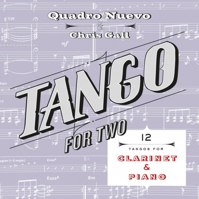Tango for Two: 12 Tangos for Clarinet & Piano