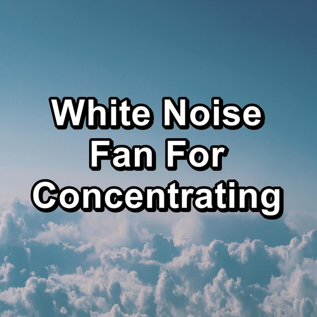 White Noise Fan For Concentrating