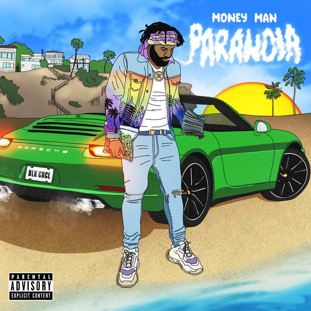 Cover art for album Paranoia by Money Man