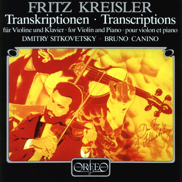 Fritz Kreisler Transcriptions for Violin & Piano