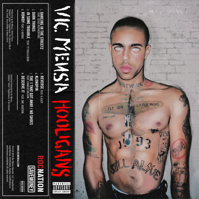 Cover art for album HOOLIGANS by VIC MENSA