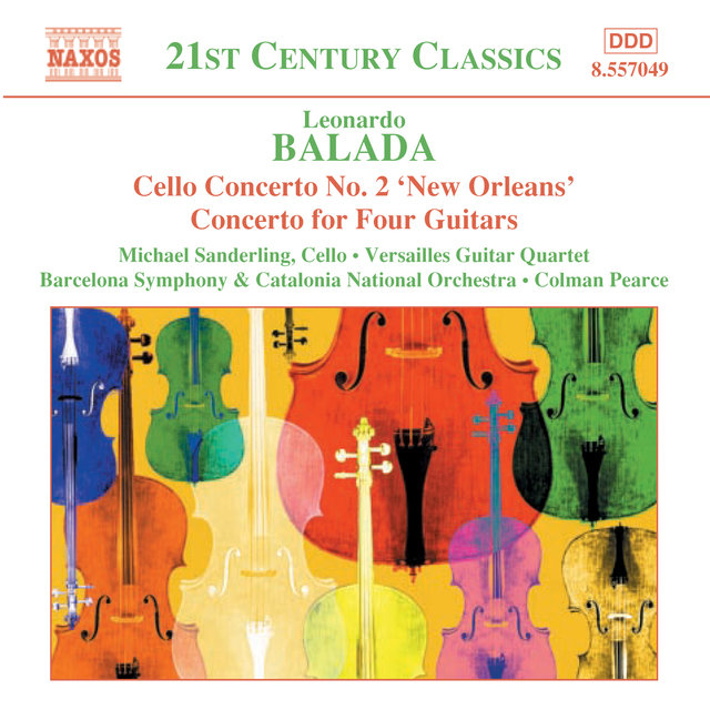 Balada: Cello Concerto No. 2 / Concerto for Four Guitars / Celebracio